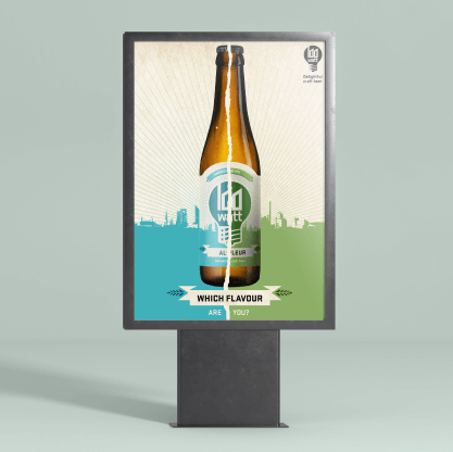 Poster Design 100 Watt