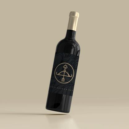 Luzt wijnetiket