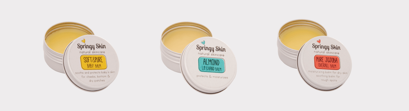 Packaging design Springy Skin